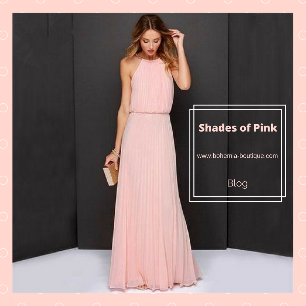 Spring Color Trend: Shades of  Pink!