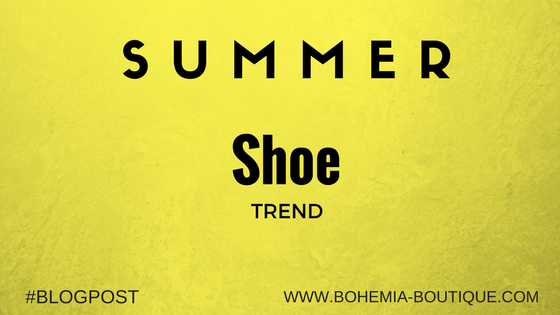Summer Shoe Trend to Style this Year