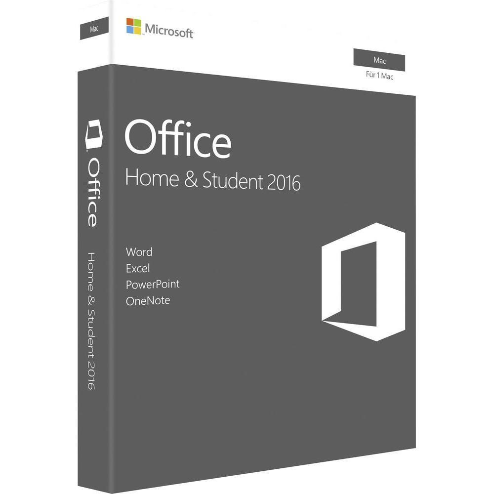 Office 2016 Home and Student MAC RETAIL (SVE/ENG)