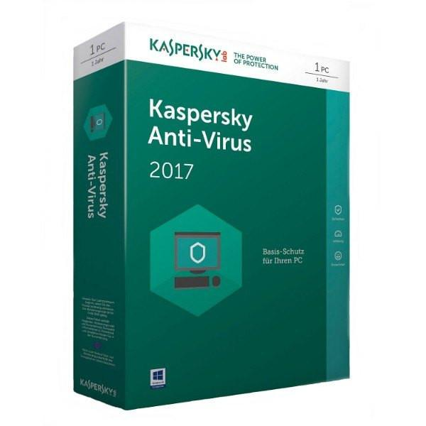 Kaspersky Antivirus 2017 1PC 1ÅR - Gamer Nation