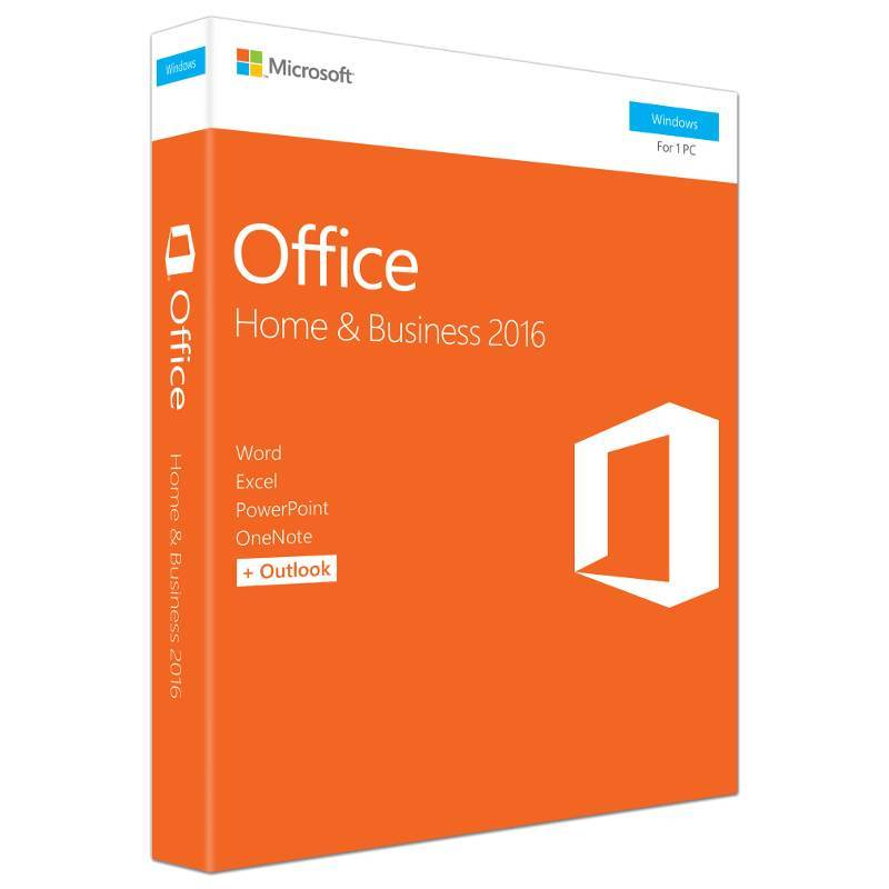 Office 2016 Home and Business RETAIL BOX (Svenska) - Gamer Nation