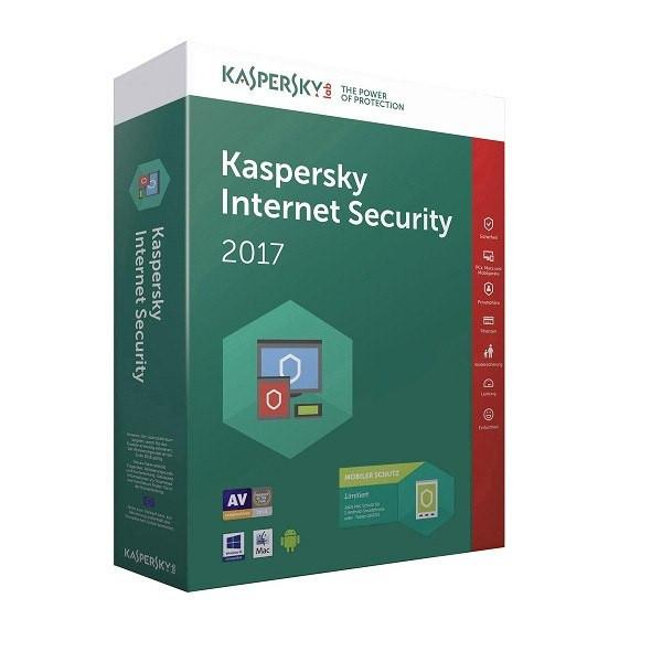 Kaspersky Internet Security 2017 1PC 1ÅR - Gamer Nation
