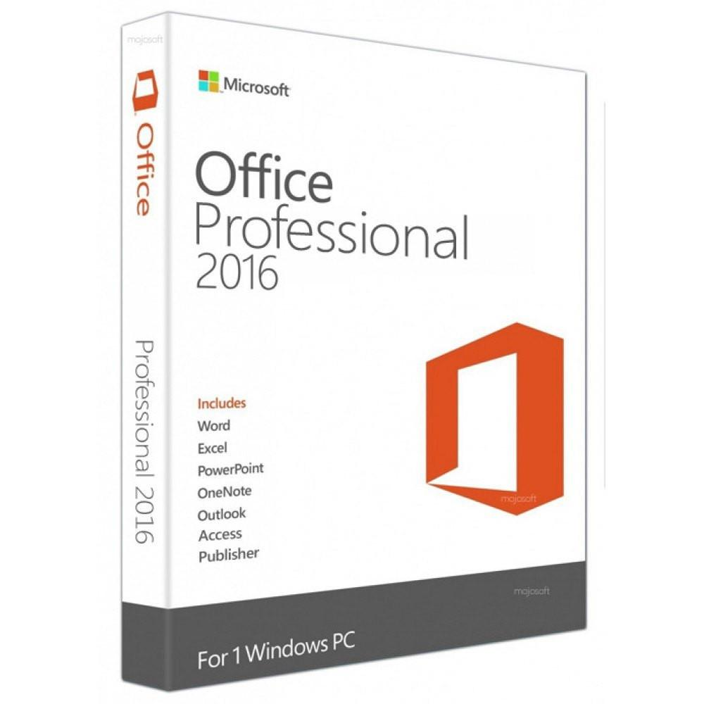 Microsoft Office 2016 Professional (Sve/Eng) - Gamer Nation