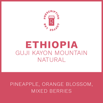 Ethiopia Guji Kayon Mountain Natural Process