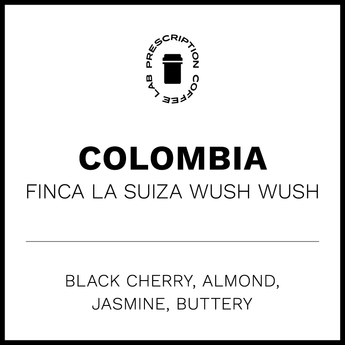 White Label Colombia Fince La Suiza Wush Wush Washed