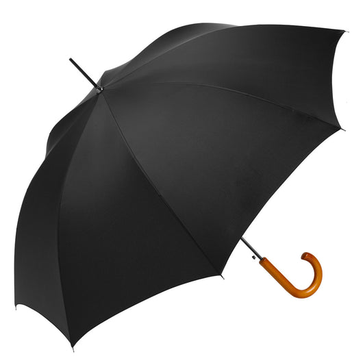 ba99564be3f4 ShedRain Traditional Auto Open Stick Umbrella with Curved Wood ...