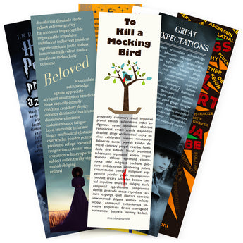 8 Assorted Bookmarks