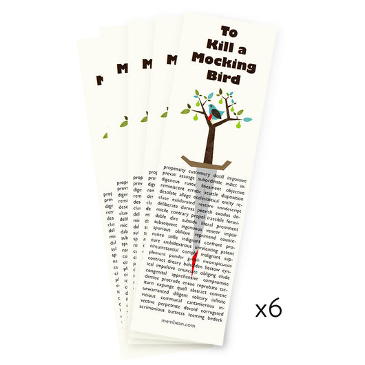 To Kill A Mockingbird Bookmarks