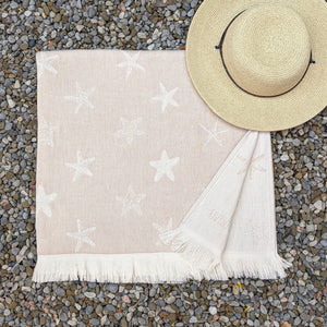 Little Star, Turkish Towel, Beige