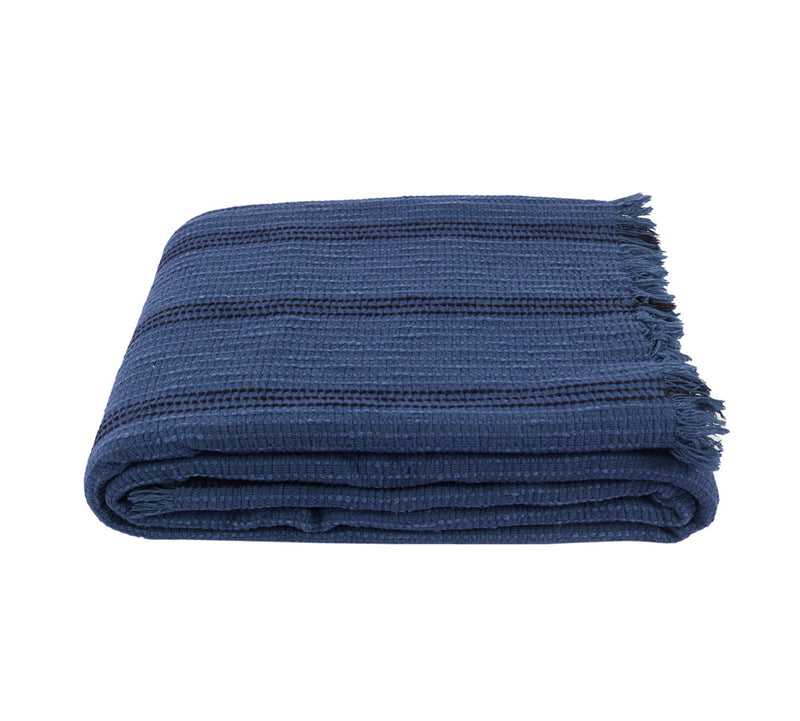 Yuma, Throw, Beach Blanket - Indigo