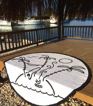 The Perfect Little Island, Round Towel