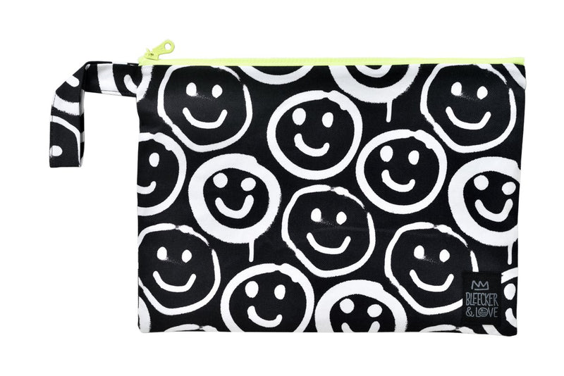 Stylish Vibrant Clutch with a handle waterproof lining splash proof