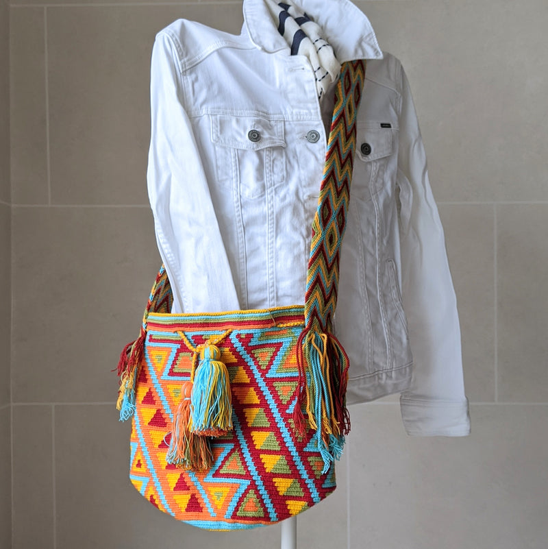 B. Rocky Bag, Handmade Wayuu Bag