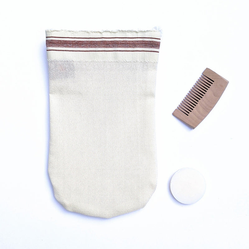 Classic Exfoliating Mitt - Medium Coarse