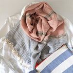Arabel, Scarf, Rose