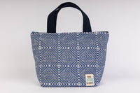 Beach Tote - Square - Blue
