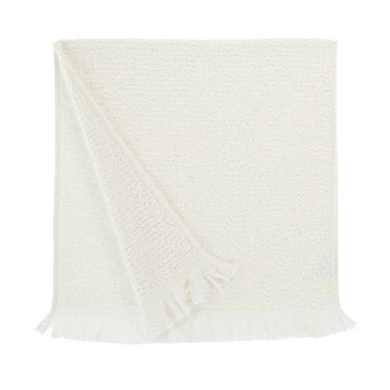 Athena, Terry Towel, Extra Long Loops, Off White