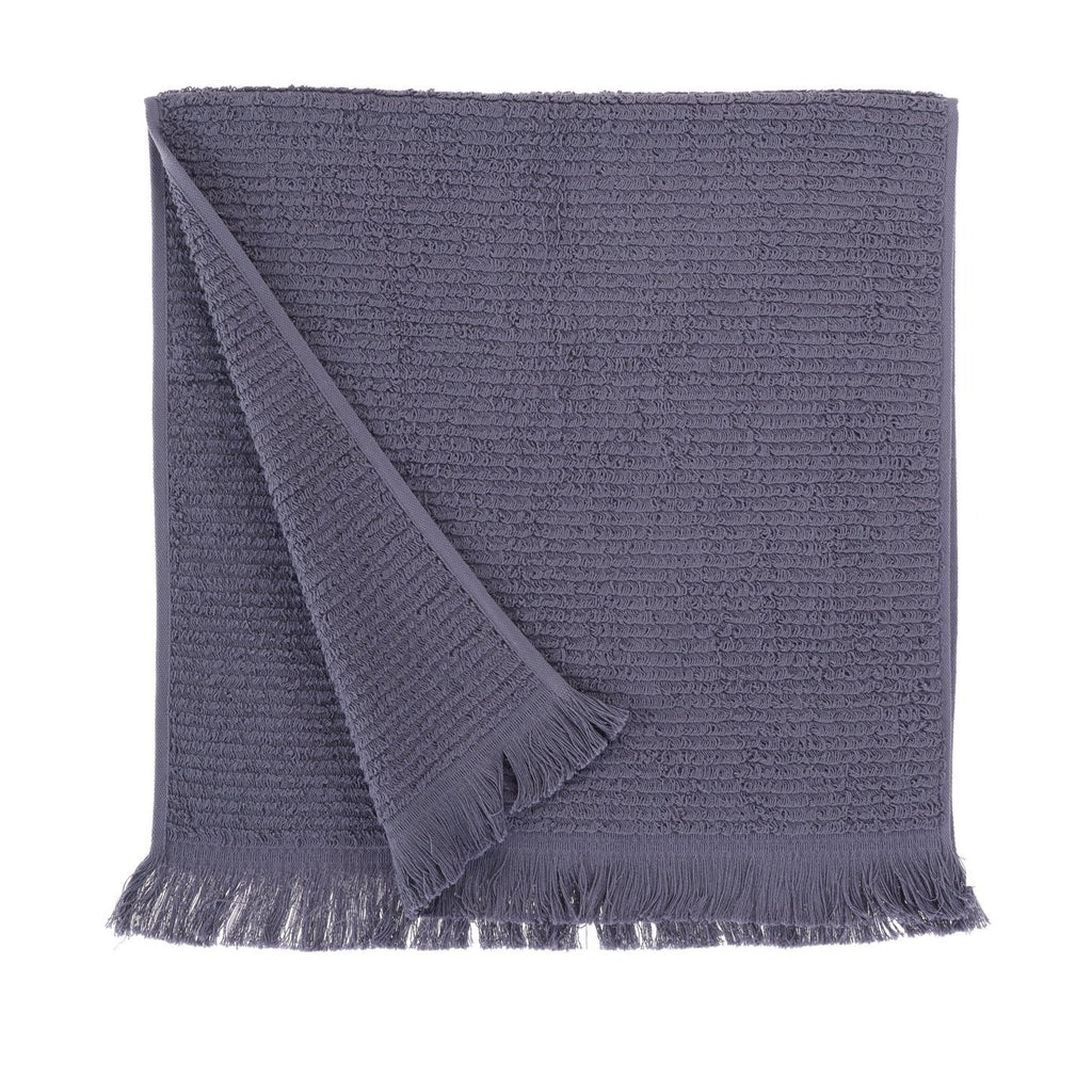 Athena, Terry Towel, Extra Long Loops, Purple Gray