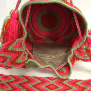 Canela Bag, Handmade Wayuu Bag