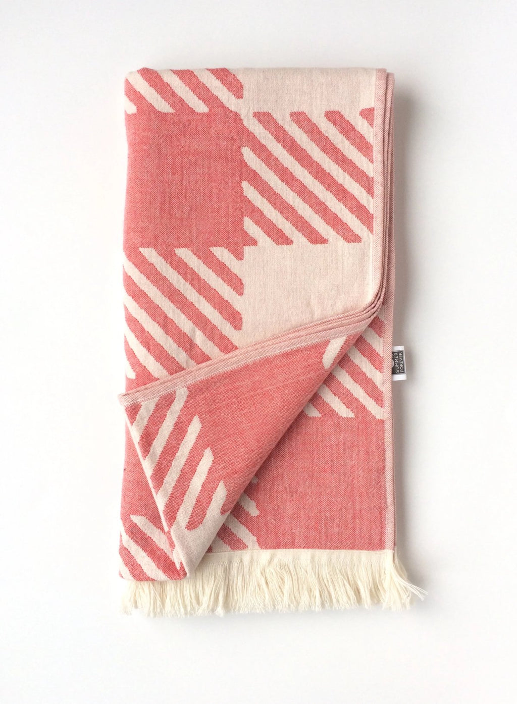 Check, Turkish Towel, Red