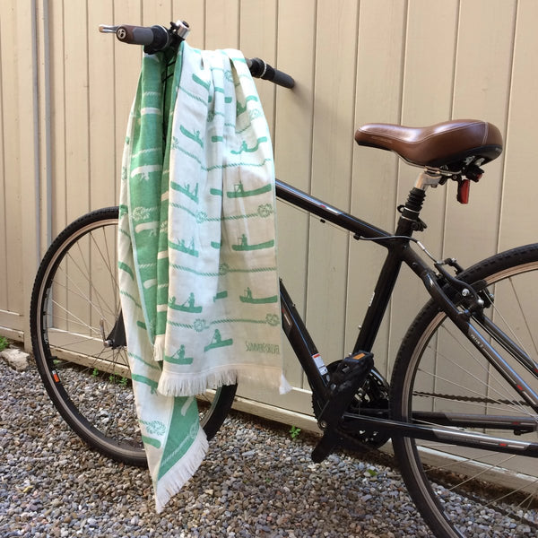 Canoe, Turkish Towel, Green
