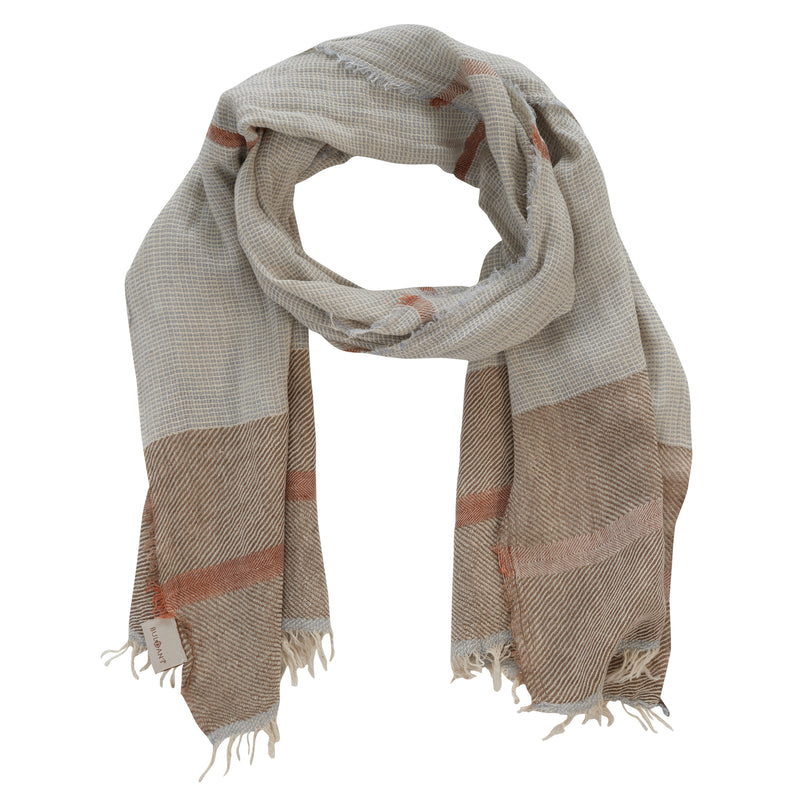 Odesa, Scarf, Steel Gray