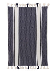Tuna Bath Mat, Navy