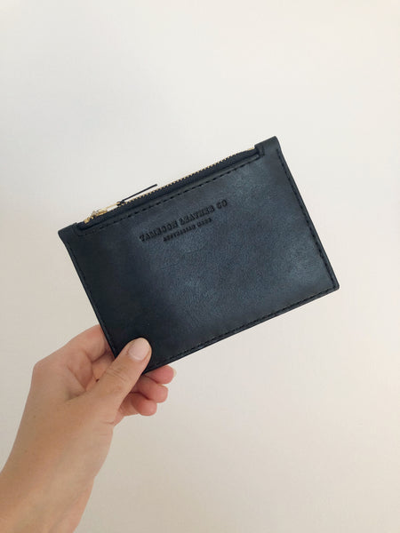 Hand Stitched Leather Card Wallet