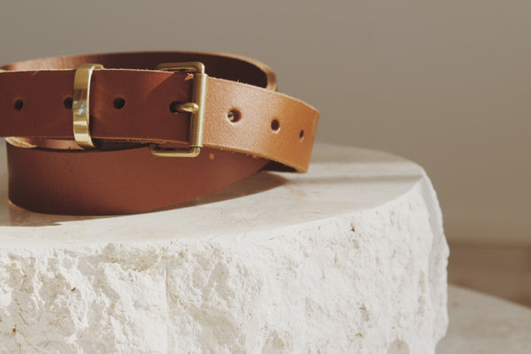 Tamboon Heritage Leather Belt