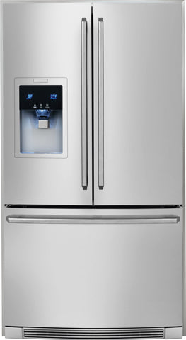 Electrolux 23 Cu. Ft. Counter-Depth French Door Refrigerator with Wave-Touch® Controls