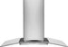 "Electrolux 42"" Glass and Stainless Canopy Island-Mount Hood"
