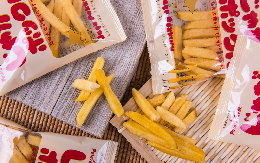 Calbee <br>The hottest potato fries from Japan