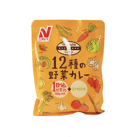 12 Shu No Vegetable Curry - 200g Snackoo