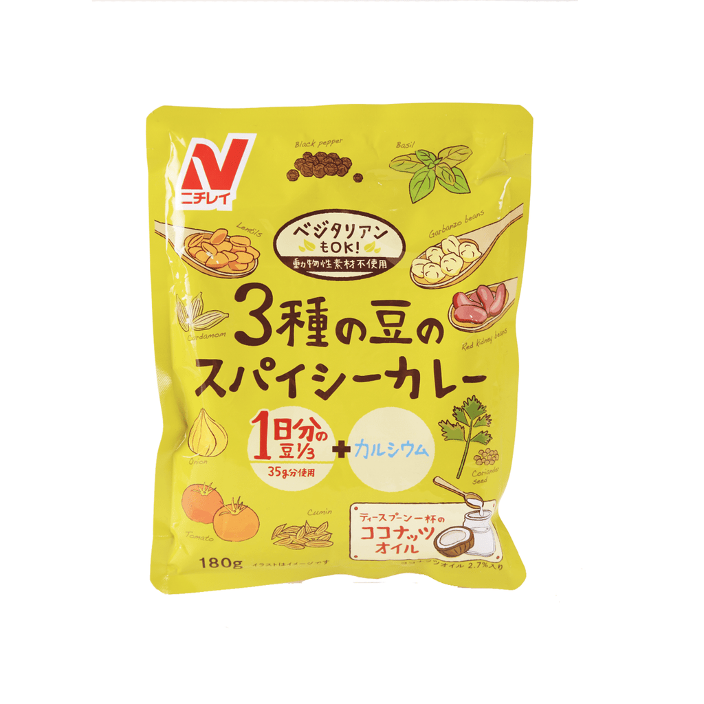 3 Shu No Beans Curry - 180g Snackoo