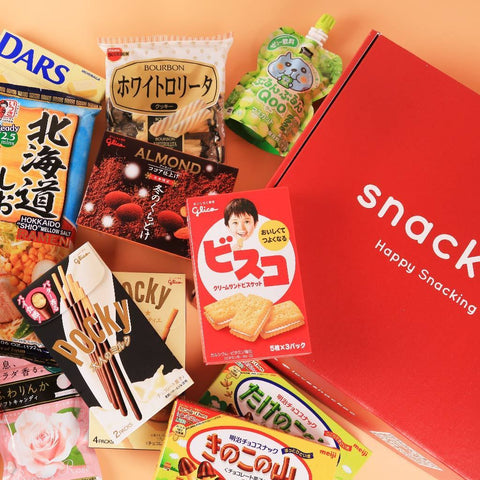 Asian Office Snacks Sampler Box Snackoo