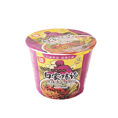 Bai Jia Hot Spicy Flavor Instant Vermicelli Snackoo