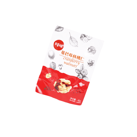Be & Cheery Cranberry Walnuts - 40g Snackoo