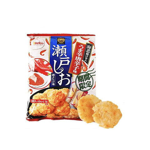 Befco Uma Hot Pepper Rice Cracker - 83g Snackoo