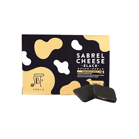 Black Truffle Sabrel Cheese Cookies - 9 PCS Snackoo