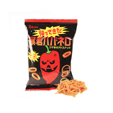Bokun Habanero Spicy Potato Chip - 56g Snackoo