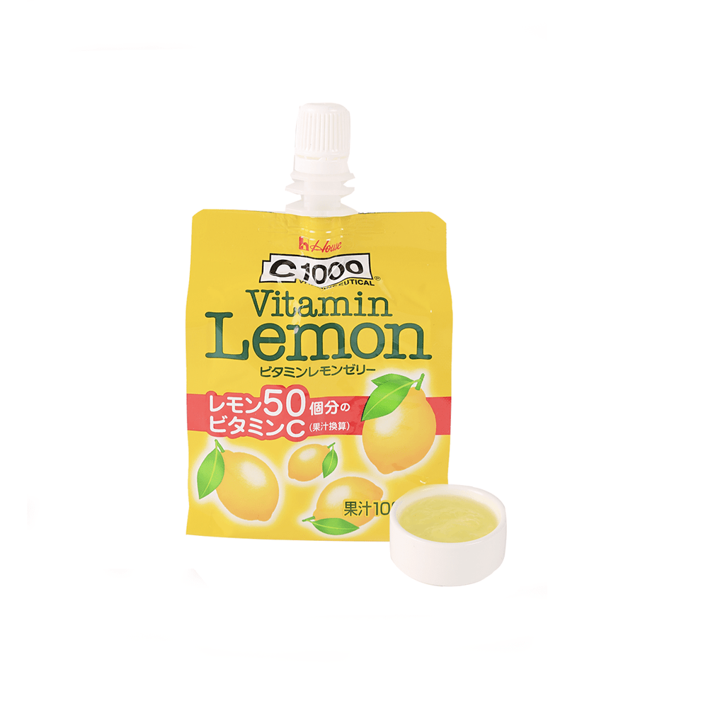C 1000 Vitamin Lemon Jelly - 180g Snackoo