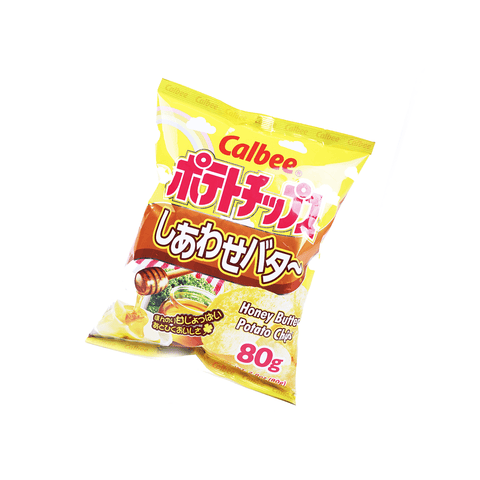 Calbee Honey Butter Potato Chips - 80g Snackoo