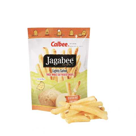 Calbee Jagabee  Lightly Salted Potato Crips - 114g Snackoo