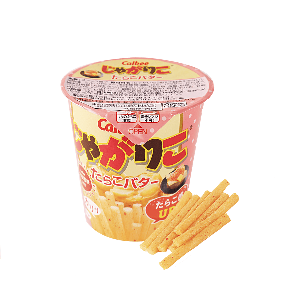 Calbee Jagakko Tabata Butter Potato Chips - 52g Snackoo