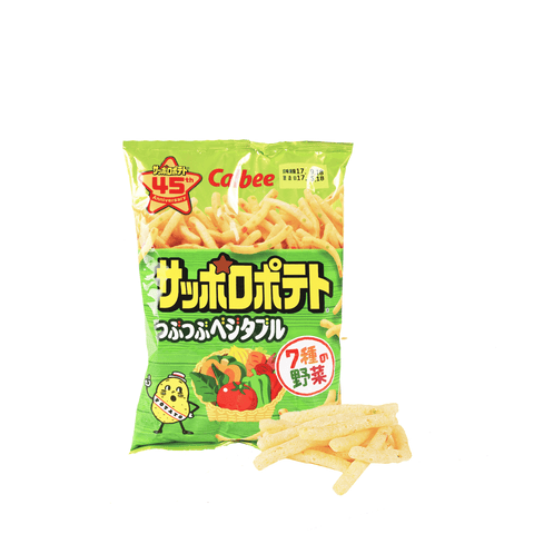 Calbee Sapporo Potato Vegetable Chips - 85g Snackoo