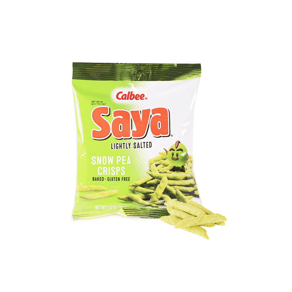 Calbee Snow Pea Crisps Lightly Salted - 70g Snackoo