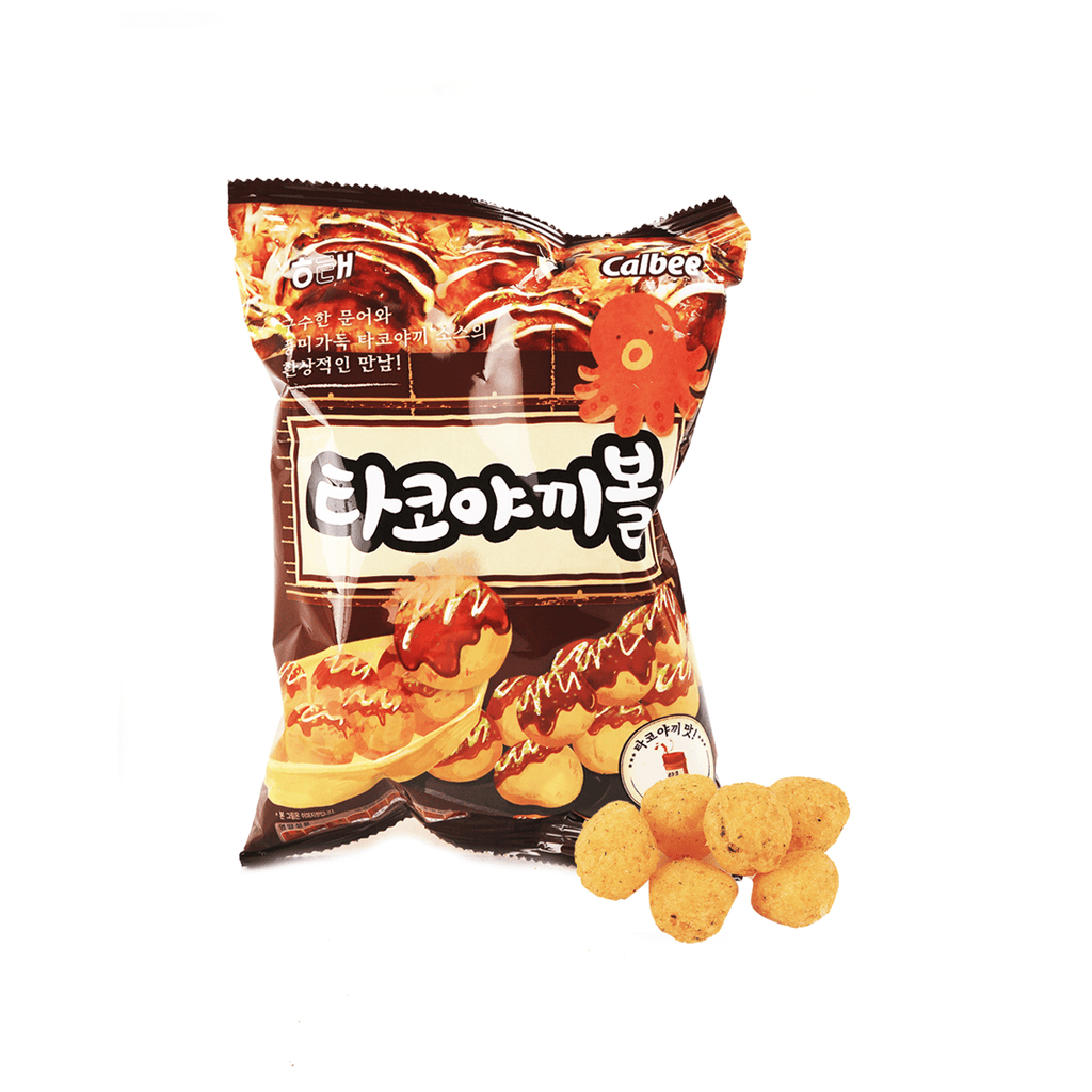 Calbee Takoyaki Ball Cookie - 70g Snackoo