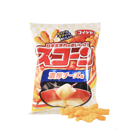 Cheese Fondue Corn Chips - 80g Snackoo