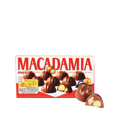Chocolate Covered Macadamia - 9 PCS Snackoo