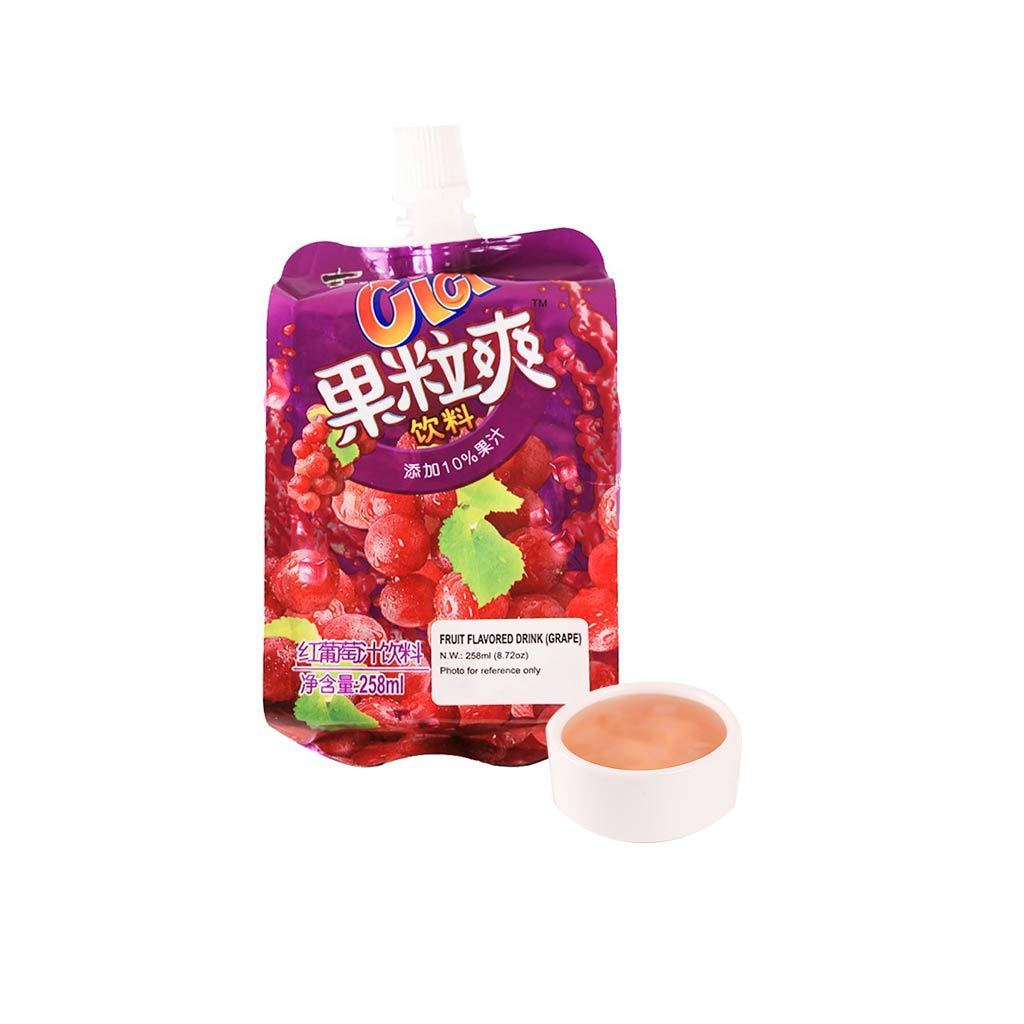 Cici Grape Flavor Jelly Juice - 258ml Snackoo